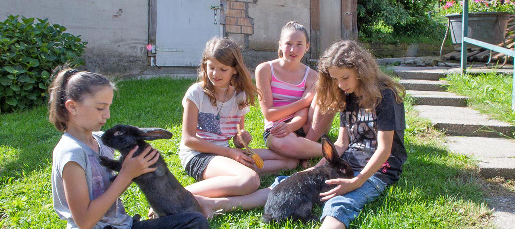 Urlauf für Kinder, Ferien mit Tieren